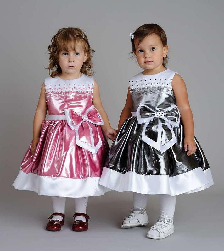 Как сделать нарядное платье для девочки
