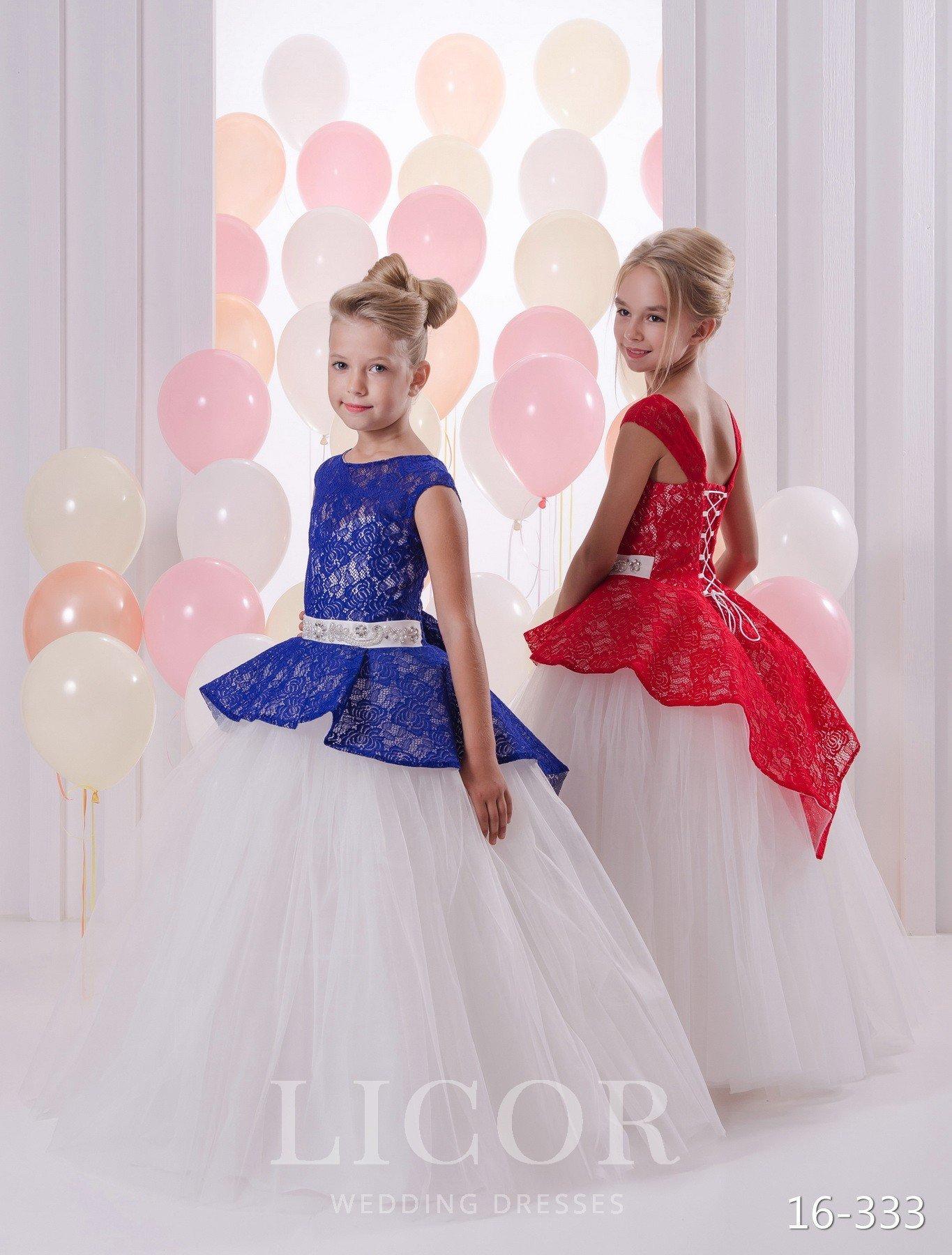 Детские платья бальные
